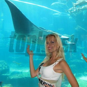Denisa Mendrejová obdivovala na Bahamách morské príšerky.