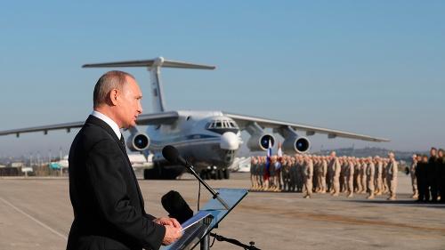 Vladimir Putin sa prihovára
