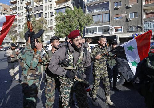 Vojaci Sýrie držia svoje