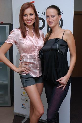 Denisa Mendrejová a Silvia Sakalášová.