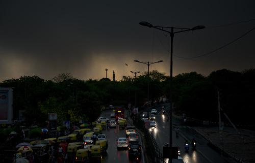 FOTO Indiu zasiahli silné