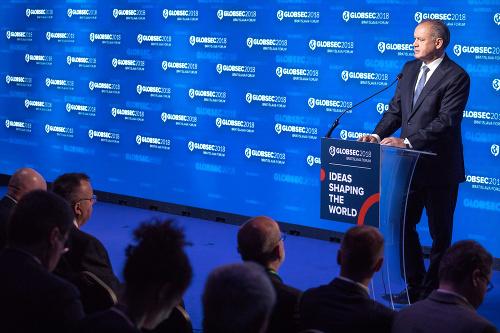 Prezident Andrej Kiska počas