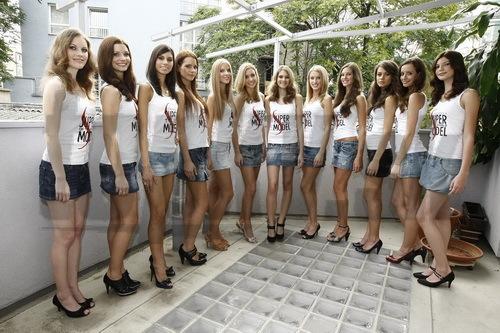 Finalistky súťaže Supermodel of the World.