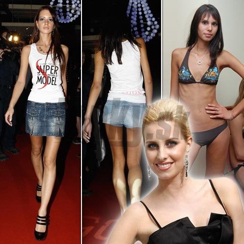 Denisa Mendrejová a vychudnuté finalistky Supermodel of the World