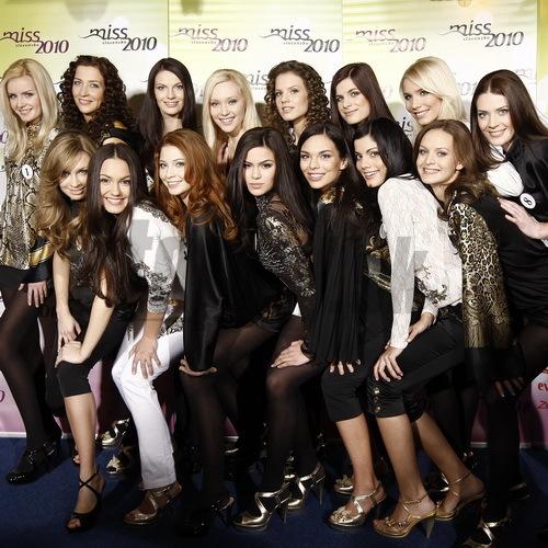Finalistky súťaže Miss Slovensko 2010