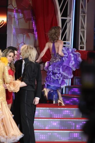 Počas reklamného brejku utekala Katka z pódia rovno do zákulisia.