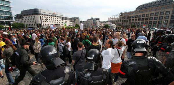 PROTEST: Za dekriminalizáciu marihuany