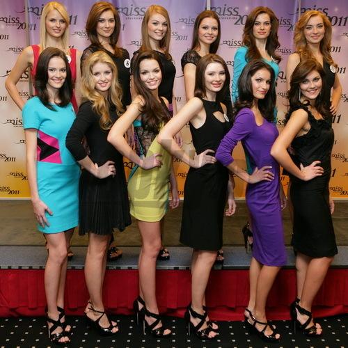 Finalistky Miss Slovensko 2011.