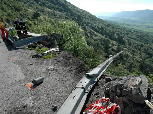 Po havárii kamióna horský priechod soroška po 19 00 h otvorený