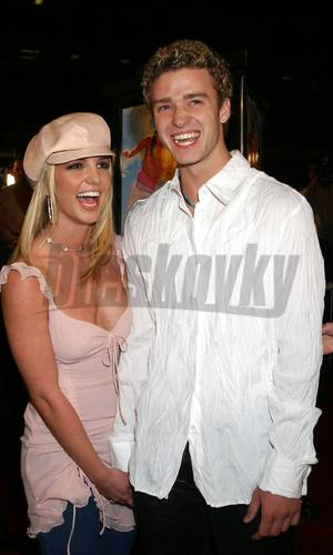 Britney Spears a Justin Timberlake.