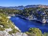 Záliv Calanque, Cassis, Francúzsko