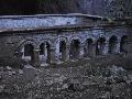 ruiny byzantského kostola z