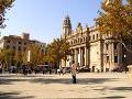 Námestie v Barcelone
