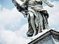 Socha anjela, Rím