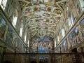 Sixtínska kaplnka, Rím, Taliansko