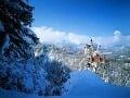 zámok Neuschwanstein, Bavorsko, Nemecko