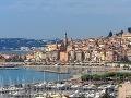 Menton, Azúrové pobrežie, Francúzsko