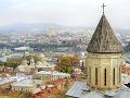 Hlavné mesto Tbilisi, Gruzínsko