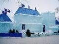 Zimný karneval v Quebecu