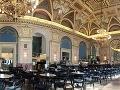 Alexandra Bookcafe v Budapešti