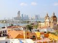 Mesto Cartagena v KOlumbii