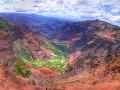 Krajina Kauai včítane kaňonu