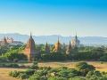 Pagody sú v Bagane