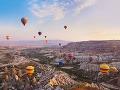 Kapadócia, Turecko
