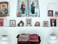 Rus postavil snehový kostolík