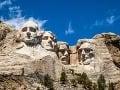 Sochy prezidentov v skale