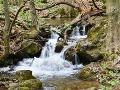 Snímka z potoka Blatnica