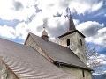 Kostolík v Ludrovej