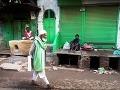 Starý moslimský nádenný robotník