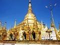 Okolo hlavnej zlatej pagody