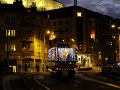 Vianočná električka v Bratislave