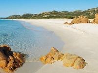 Pláž Biderossa, Sardínia