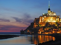 Mont Saint-Michele, Francúzsko
