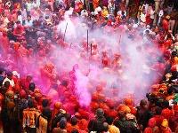 Sviatok Holi, India