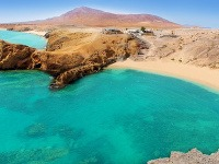 Lanzarote, pláž Papagayo