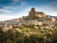 Hrad v Sione