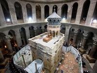 Po nákladnej rekonštrukcii sprístupnili Boží hrob: Podľa vedcov mu však hrozí zrútenie!