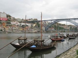 Pohľad na Porto, Portugalsko