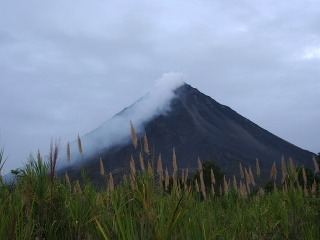 sopka Arenal, Kostarika