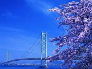 Akashi Strait Bridge, Kobe,