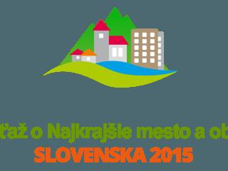 """Priebeh súťaží """"Najkrajšie mesto a obec Slovenska 2015"""" a """"Primátor/Starosta Slovenska 2015"""" na SLOVAKREGION.SK"""