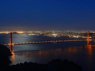 Most je v noci