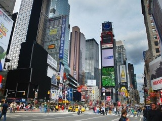 Broadway pretína i Times