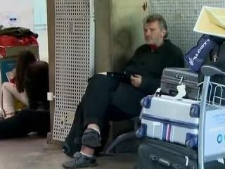 Na brazílskom letisku tri