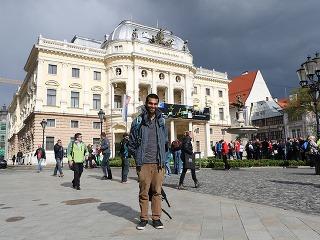 Skúsený cestovateľ na Slovensku: