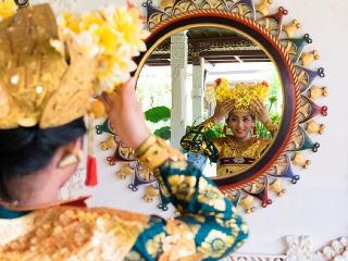 Indonézska tanečnica